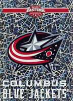 2018-19 Panini NHL Stickers #59 Columbus Blue Jackets Logo FOIL Hockey Sticker