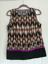 Marks and spencer Woman Petite Size 12 Sleevless Top