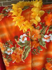 Hawaiian design sarongs 2 pcs plus Garlands