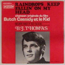 Butch Cassidy and the Kid 45 tours B.J. Thomas