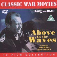 ABOVE US THE WAVES  John Mills*John Gregson*Donald Sinden  CLASSIC WAR PROMO DVD