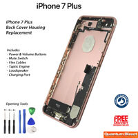 NEW iPhone 7 Plus Fully Assembled Back Cover Housing with ALL Parts - ROSE GOLD