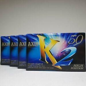 FUJI AXIA lot (2/ 5/ 10/ 25) k2 50 blank cassette tape (sealed)
