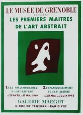 Original vintage poster ABSTRACT ART MASTERS ARP EXPO 1949