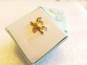 9ct Yellow Gold Charm of Turtle