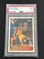 1996 Topps Kobe Bryant #138 PSA 9 MINT RC Rookie Card HOF SHIPS FAST