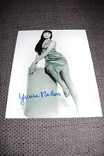 Yvonne Monlaur SIGNED AUTOGRAFO sexy 20x25cm foto inperson THE BRIDES OF DRACULA