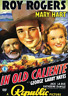 Roy Rogers, Lynne Roberts-In Old Caliente (UK IMPORT) DVD NEW