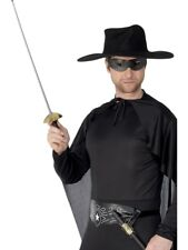 Zorro Bandit Eyemask & 68cm Sword Mexican Fancy Dress Accessory