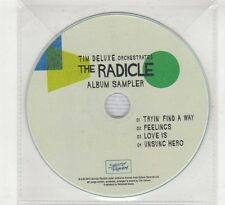 (HE568) Tim Deluxe, The Radicle album sampler - 2015 DJ CD