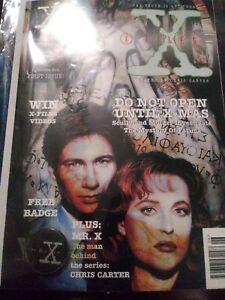 X Files Magazine #1 Import June 1995 Manga UK Comic + 22 collector cards