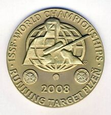 2008 ISSF WORLD Shooting CHAMPIONSHIPS PARTICIPANT MEDAL Running Target Plzen