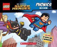 •LEGO DC Comics Super Heroes Phonics Pack 2 Book