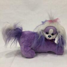 Puppy Surprise, Plush Purple Dog Sparkle Nose with 1 Puppy