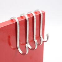 10pcs S Shaped Hooks Kitchen Hanger Storage Holders Organizer Household Tool