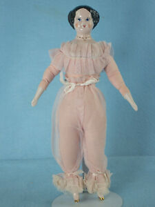 """Large 12""""  Ruth Gibbs Doll in Original Lace Camisole and Pantaloons"""