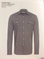 R.M. Williams Plaids & Checks 100% Cotton Casual Shirts for Men
