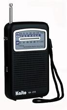 Kaito KA210 Pocket AM/FM NOAA Weather Radio