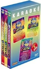 22375//COFFRET 3 DVD KARAOKE ACADEMY VOLUME 14/15/16 NEUF SOUS BLISTER