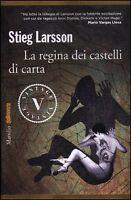 La regina dei castelli di carta, STIEG LARSSON, MARSILIO LIBRI COD:9788831714662