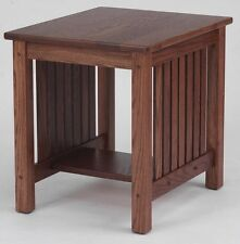 #4531 Solid Oak  Mission End Table