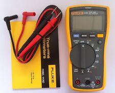 USA Seller Fluke 117C VoltAlert TRUE RMS Digital Multimeter w/ Carrying Case