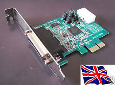 RS232 PCI Express PCIe 4 Port Serial 16C950 4S w/Power