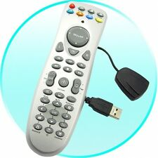 USB Wireless PC Remote Control + Receiver for Windows Media Center, XP, Vista, 7