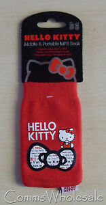 Universal Official Licenced Red Hello Kitty  Mobile Phone Protective Sock