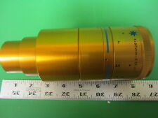 ISCO Ultra Star 80mm Integrated Anamorphic 35mm Projector Lens  GOLD