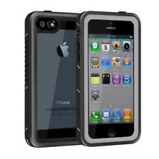 Waterproof Case Full Body Protective For iPHONE SE 5S 5 & Screen Protector Black