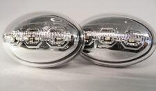 CROMO Repetidores Laterales LED INTERMITENTES PARA FORD FIESTA Mk3 Mk4 89-02
