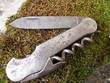 """Ancien couteau tire bouchon décapsuleur """" Pradel """""""