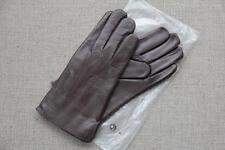 Lederhandschuhe Herren Handschuhe Leder gefüttert Wolle Beckumer Braun