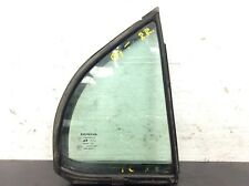 99-03 Acura TL 4Dr Right Rear Quarter Door Vent Glass Window Green Used OEM