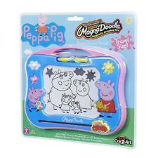 Peppa Pig Magna Doodle Drawing Fun Magnetic Board Pens Stamp Erase Travel Kids
