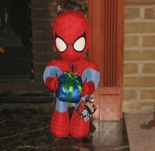 Huge Ultimate Spider Man Christmas Holiday Hero Greeter Plush Doll Toy Brand New