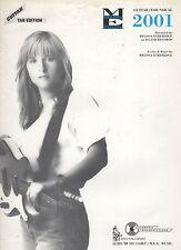Melissa Etheridge 2001  US Sheet Music Guitar Tab Edition