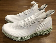 """adidas alphaedge 4d """"Footwear White� Size 12 Mens Running Shoes Ef3454"""
