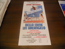 LOCANDINA ORIGINALE BELLO COME UN ARCANGELO LANDO BUZZANCA 1974