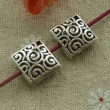 free ship 120 pcs tibetan silver nice hollow spacer beads 15x15mm #2735