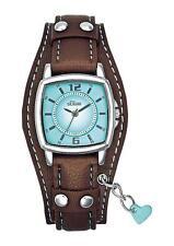 Ovale Polierte Armbanduhren für Damen