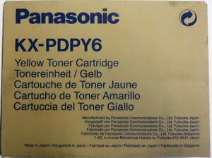 Panasonic Original Toner KX-P DPY6  gelb  KX-P8410/8420/8430/8475  Rechn.+MwSt.