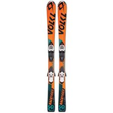 2016 Volkl Racetiger JR 130cm Junior Skis w/ 3Motion 4.5 Ski Bindings
