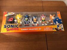 Sonic Hedgehog Classics Collectors Set Metal Super Rare Toy Action Set Tails