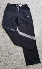 New Under Armour Youth Boys Black Long Pants Sweatpants Size: X-Large