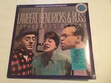 LAMBERT, HENDRICKS & ROSS - Everybody's Boppin' ~ CBS 45020 [MINT SEALED] ->NICE