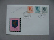 LUXEMBOURG, cover FDC 1964, Grande-Duchesse Charlotte, royalty