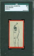 1910 T210-6 Old Mill - Creager - Richmond (Blue Grass League) - SGC 60