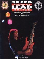 Speed Mechanics for Lead Guitar Troy Stetina